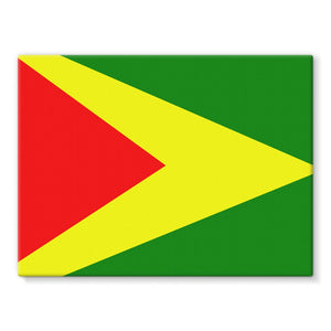 Flag Of Guyana Stretched Canvas Wall Decor Flagdesignproducts.com