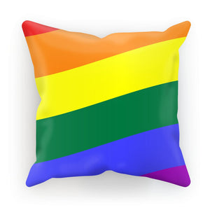 Waving Rainbow Flag Cushion Homeware Flagdesignproducts.com