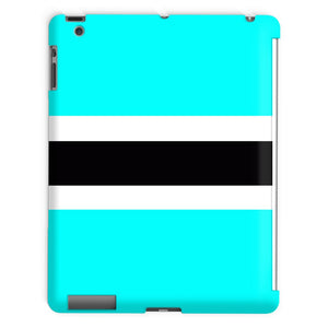 Flag Of Botswana Tablet Case Phone & Cases Flagdesignproducts.com