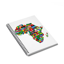 Africa Countries Flag Spiral Notebook - Ruled Line Paper Products Flagdesignproducts.com