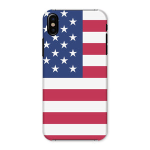 Basic Usa Flag Phone Case & Tablet Cases Flagdesignproducts.com
