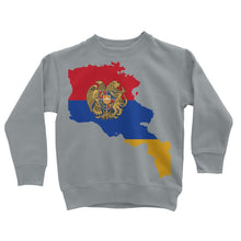 Armenia Continent Flag Kids Sweatshirt Apparel Flagdesignproducts.com