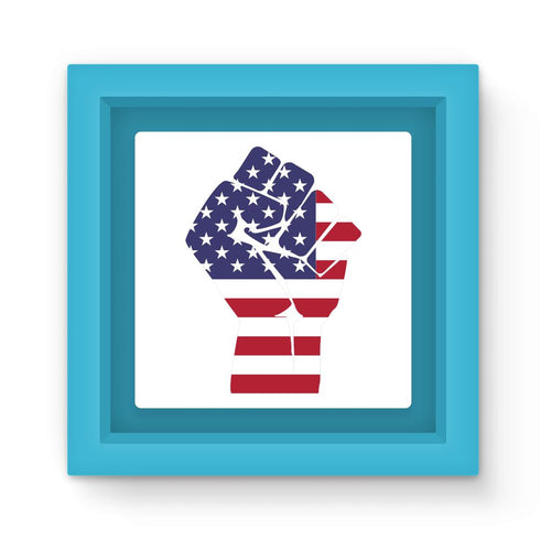 America First Hand Flag Magnet Frame Homeware Flagdesignproducts.com