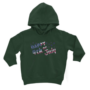 4Th July Usa Text Flag Kids Hoodie Apparel Flagdesignproducts.com