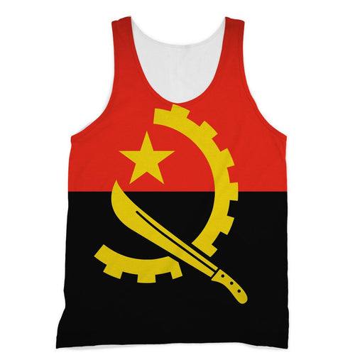 Angola Flag Sublimation Vest Apparel Flagdesignproducts.com