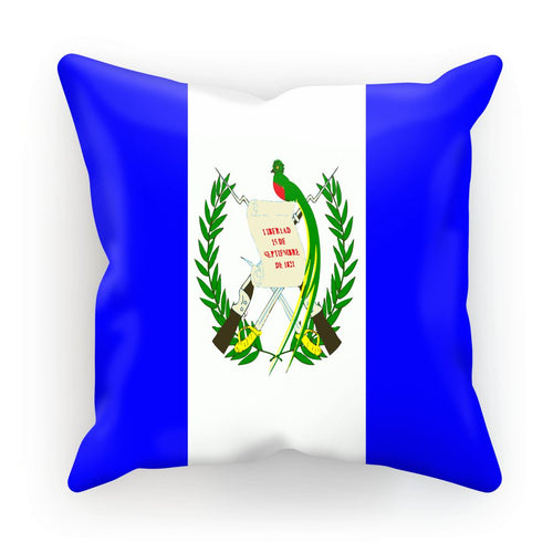 Flag Of Guatemala Cushion Homeware Flagdesignproducts.com