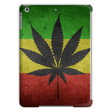 Green Yellow & Red Cannabis Tablet Case Phone Cases Flagdesignproducts.com