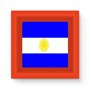 Flag Of Argentina Magnet Frame Homeware Flagdesignproducts.com