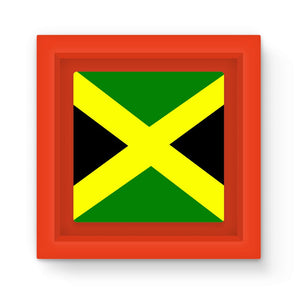 Flag Of Jamaica Magnet Frame Homeware Flagdesignproducts.com