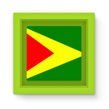 Flag Of Guyana Magnet Frame Homeware Flagdesignproducts.com