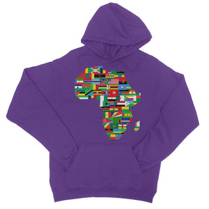 Africa Countries Flag College Hoodie Apparel Flagdesignproducts.com