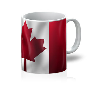 Waving Canada Flag Mug Homeware Flagdesignproducts.com