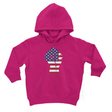 America First Hand Flag Kids Hoodie Apparel Flagdesignproducts.com
