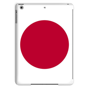 Basic Japan Flag Tablet Case Phone & Cases Flagdesignproducts.com