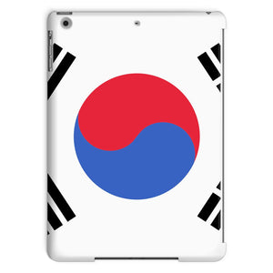 Basic South Korea Flag Tablet Case Phone & Cases Flagdesignproducts.com