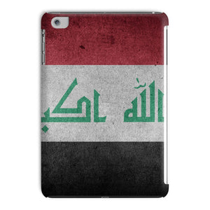 Grunge Iraq Flag Tablet Case Phone & Cases Flagdesignproducts.com