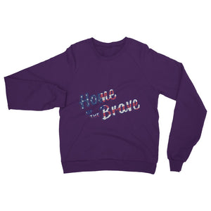 Home Of The Brave Usa Flag Heavy Blend Crew Neck Sweatshirt Apparel Flagdesignproducts.com