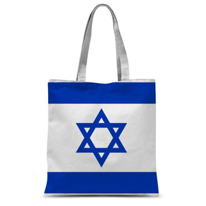 Basic Isreal Flag Sublimation Tote Bag Accessories Flagdesignproducts.com