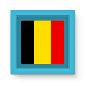 Basic Belgium Flag Magnet Frame Homeware Flagdesignproducts.com