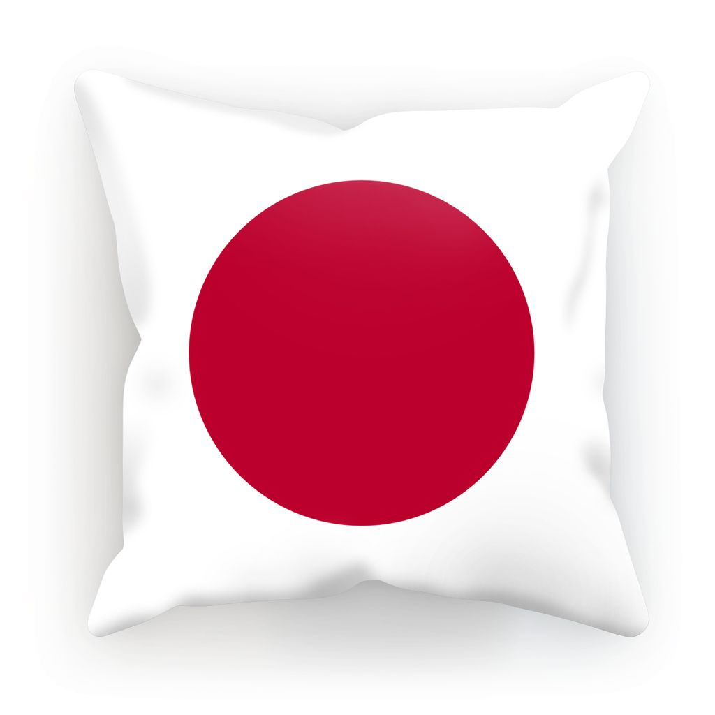 Basic Japan Flag Cushion Homeware Flagdesignproducts.com