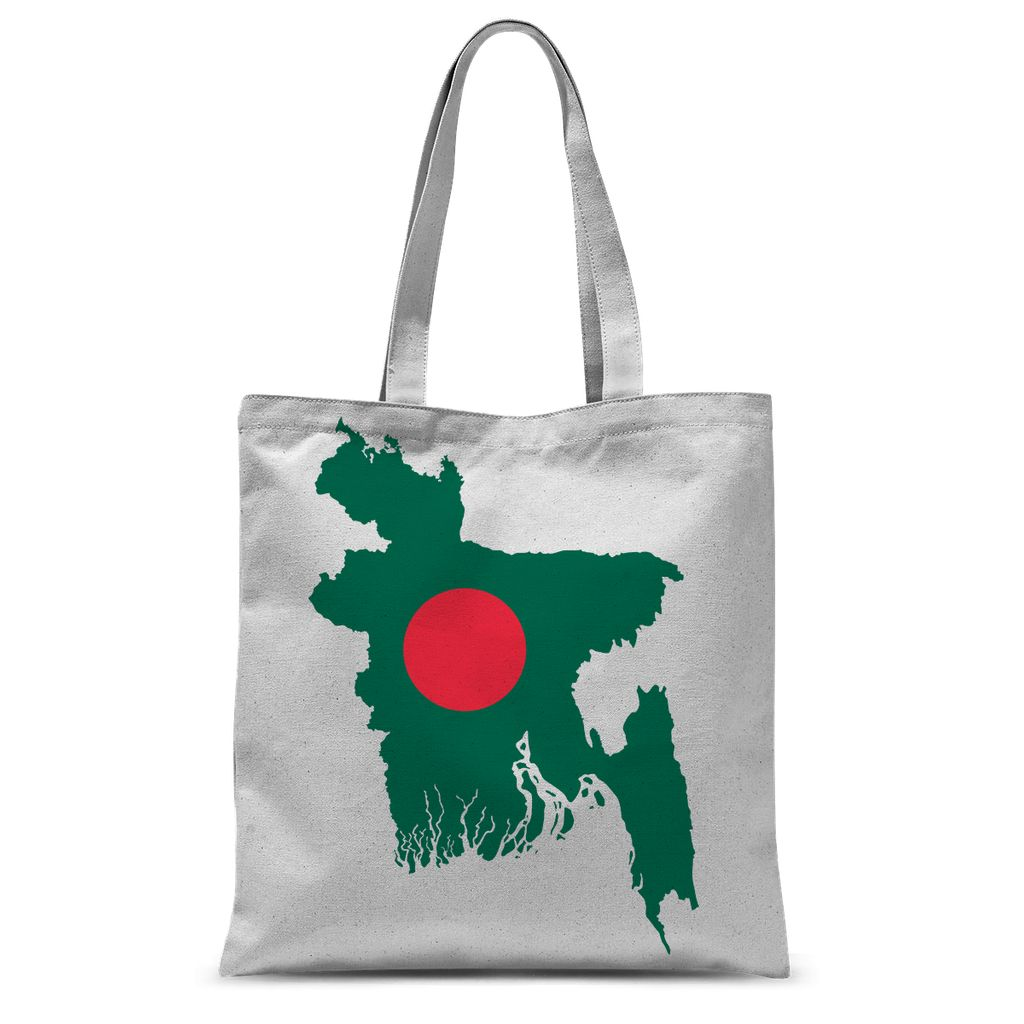 Bangladesh Continent Flag Sublimation Tote Bag Accessories Flagdesignproducts.com