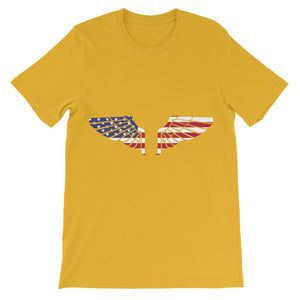 America USA Wings Flag Kids' T-Shirt