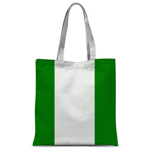 Flag Of Nigeria Sublimation Tote Bag Accessories Flagdesignproducts.com