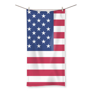 Basic Usa Flag Beach Towel Homeware Flagdesignproducts.com