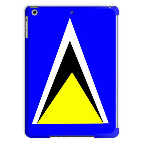 Flag Of Saint Lucia Tablet Case Phone & Cases Flagdesignproducts.com
