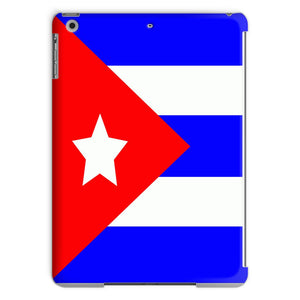Flag Of Cuba Tablet Case Phone & Cases Flagdesignproducts.com
