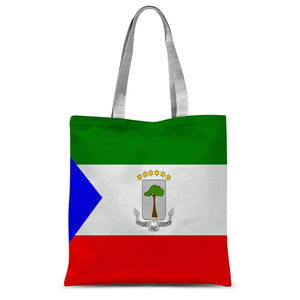 Flagof Equatorial Guinea Sublimation Tote Bag Accessories Flagdesignproducts.com