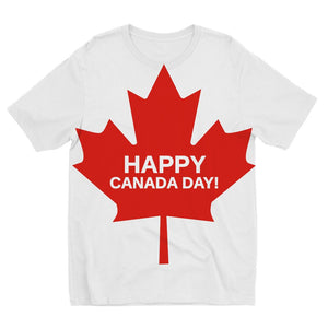 Canada Day Maple Flag Kids Sublimation T-Shirt Apparel Flagdesignproducts.com