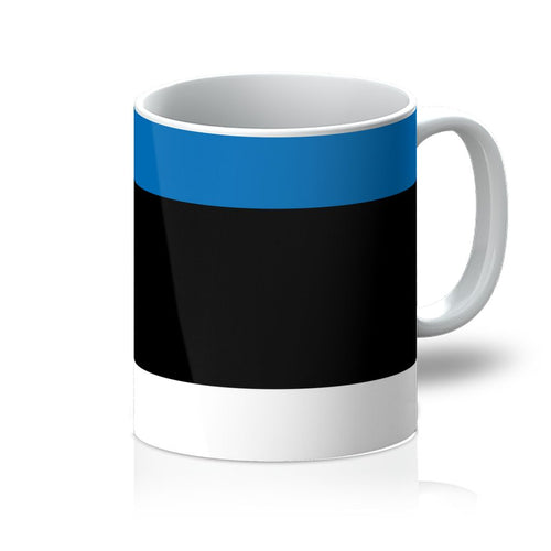 Basic Estonia Flag Mug Homeware Flagdesignproducts.com