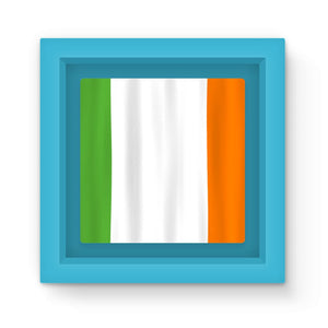 Waving Ireland Flag Magnet Frame Homeware Flagdesignproducts.com