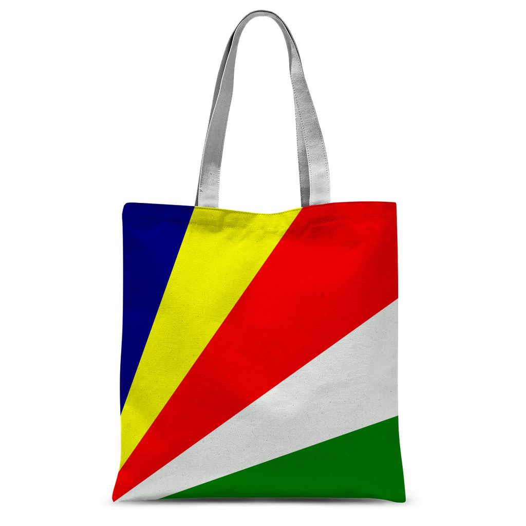 Flag Of Seychelles Sublimation Tote Bag Accessories Flagdesignproducts.com