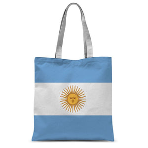 Argentina Flag Sublimation Tote Bag Accessories Flagdesignproducts.com