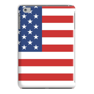 Basic America Flag Tablet Case Phone & Cases Flagdesignproducts.com