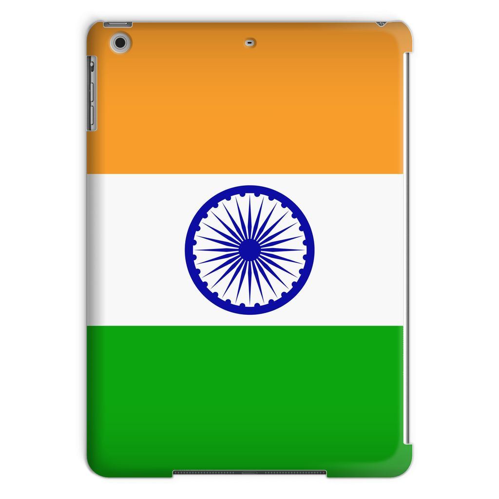 Basic India Flag Tablet Case Phone & Cases Flagdesignproducts.com