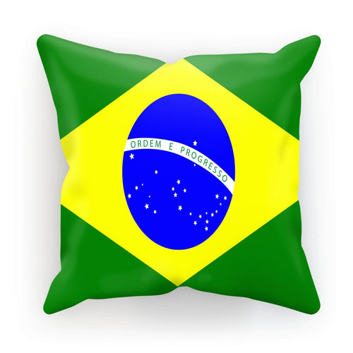 Flag Of Brazil Cushion Homeware Flagdesignproducts.com