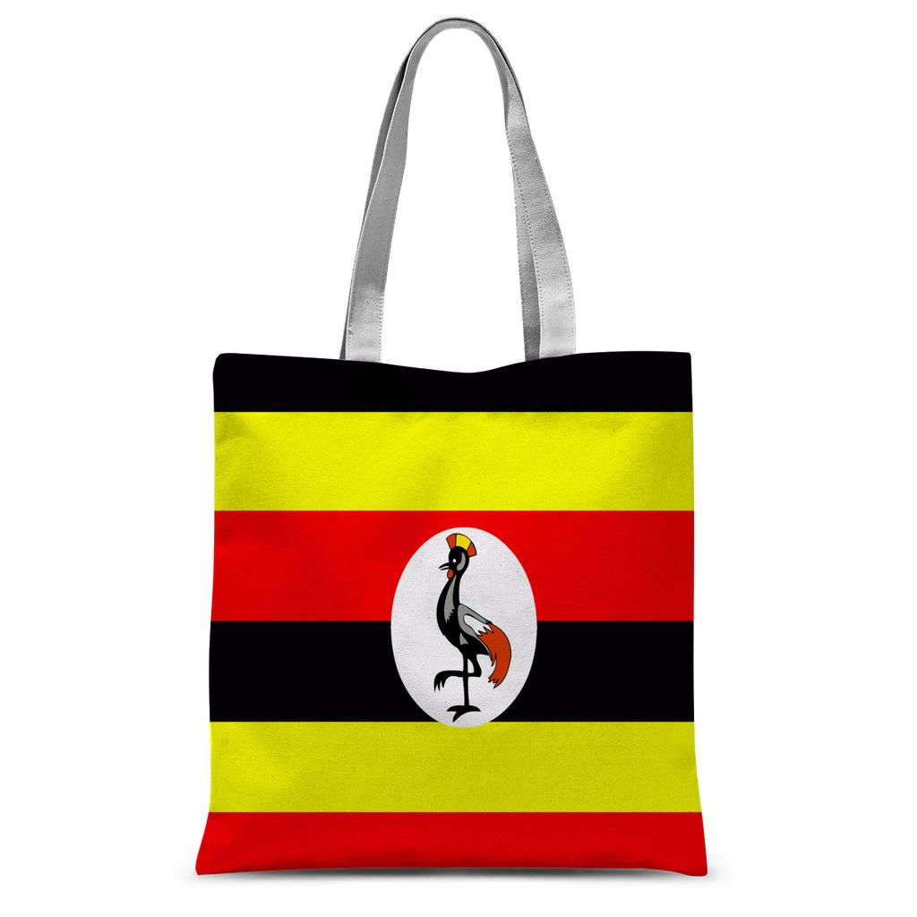 Flag Of Uganda Sublimation Tote Bag Accessories Flagdesignproducts.com