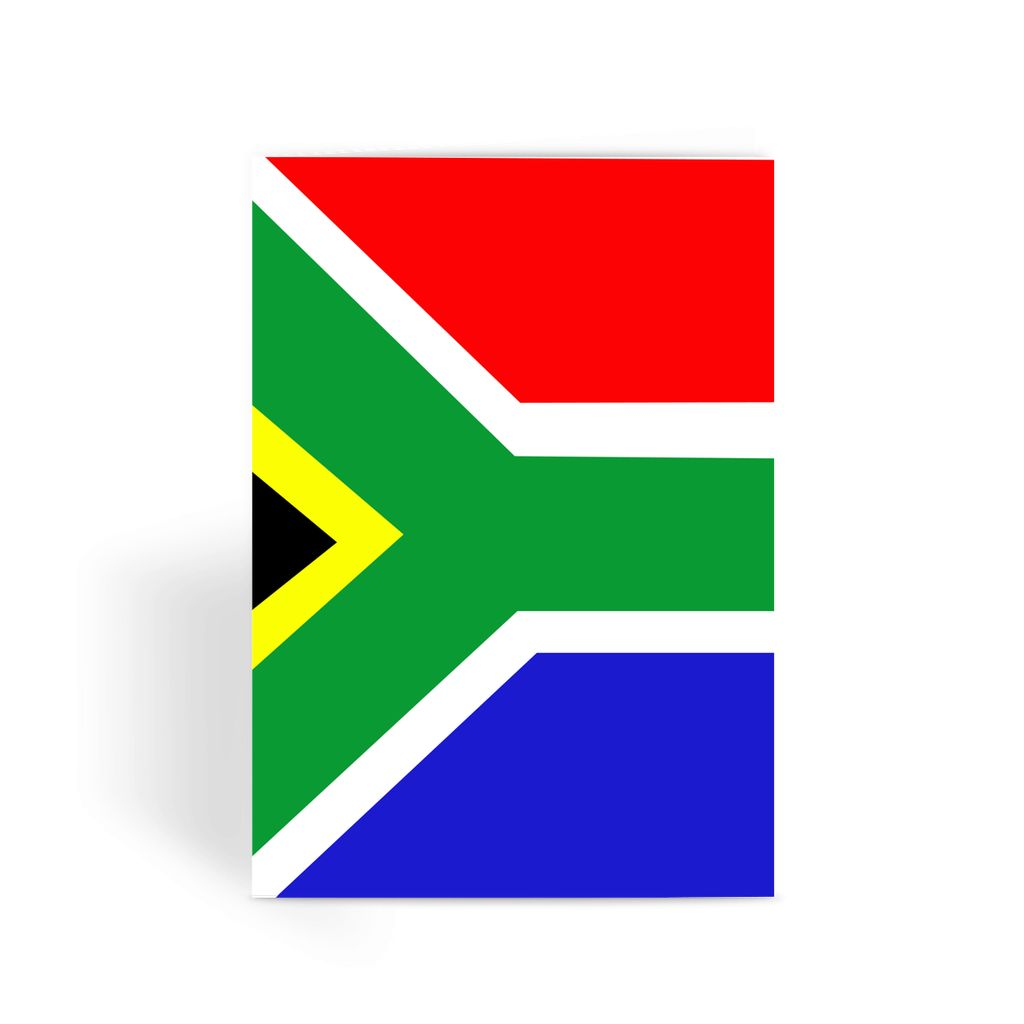 Flag Of South Africa Greeting Card Prints Flagdesignproducts.com