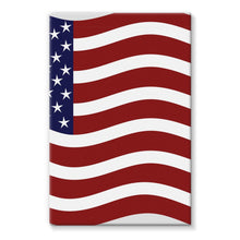 Waving Usa Flag Stretched Eco-Canvas Wall Decor Flagdesignproducts.com