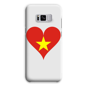 Vietnam Heart Flag Phone Case & Tablet Cases Flagdesignproducts.com