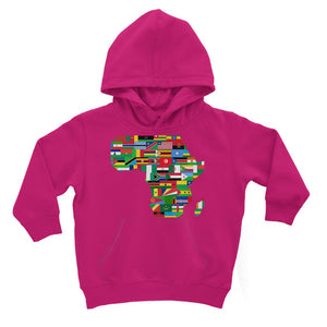Africa Countries Flag Kids Hoodie Apparel Flagdesignproducts.com