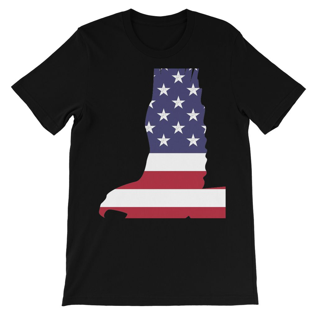 USA Flag American Eagle Kids' T-Shirt