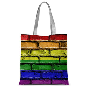 Colorful Lgbt Rainbow Flag Sublimation Tote Bag Accessories Flagdesignproducts.com