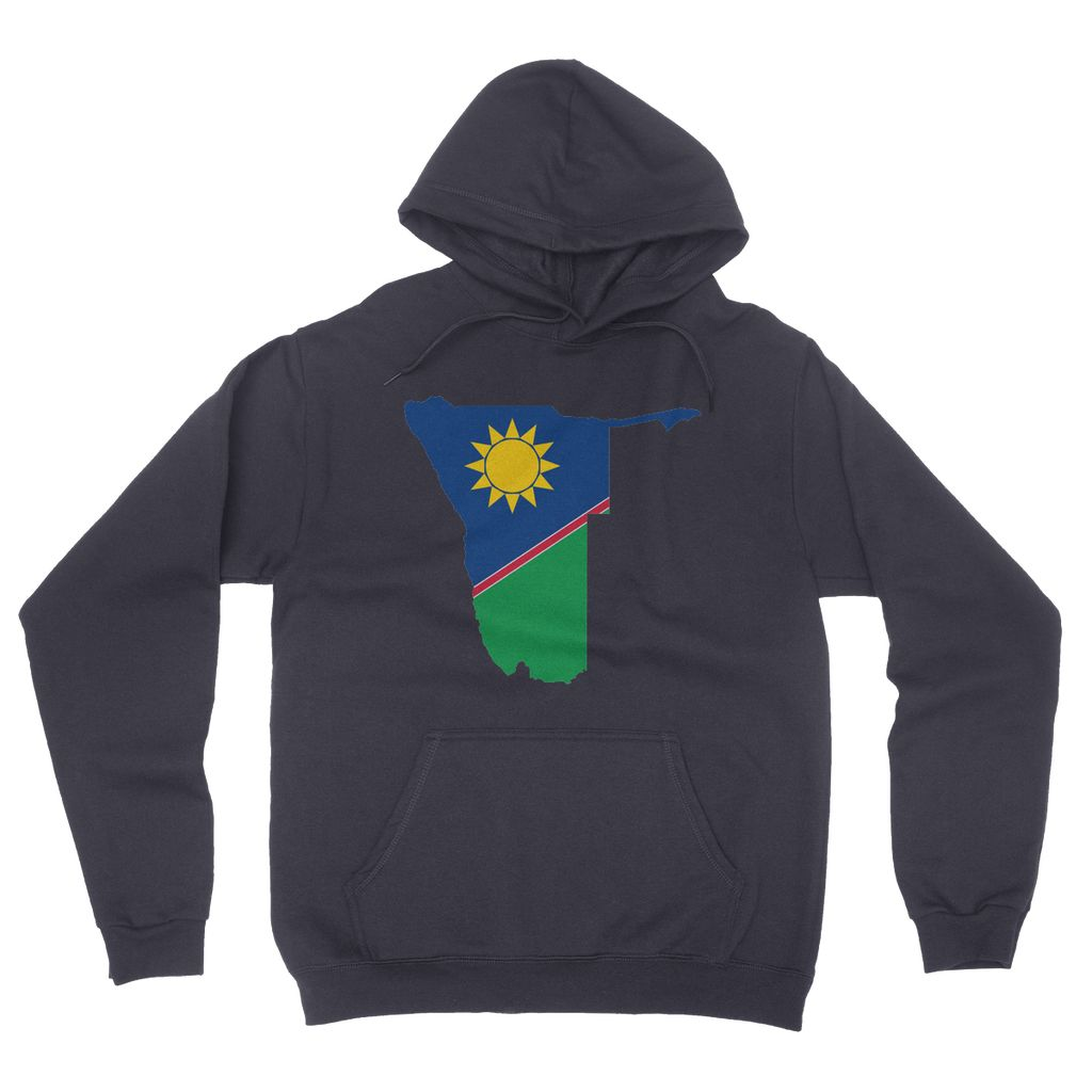 Namibia Continent Flag California Fleece Pullover Hoodie
