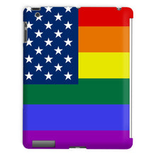 Colorful Usa Rainbow Flag Tablet Case Phone & Cases Flagdesignproducts.com