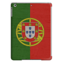 Grunge Vintage Portugal Flag Tablet Case Phone & Cases Flagdesignproducts.com