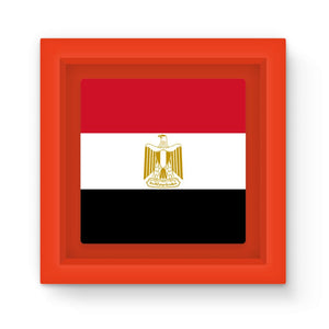 Basic Egypt Flag Magnet Frame Homeware Flagdesignproducts.com